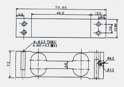 电子称rs232接线图
